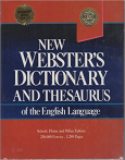 New Websters Dictionary and Thesaurus of the English Language